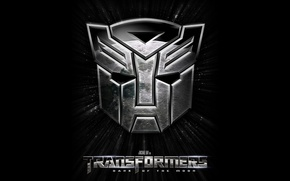 Wallpaper transformers, emblem, the Autobots, dark of the moon, transformers