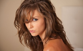 Picture look, girl, brown hair, beautiful, malena morgan, Malena Morgan