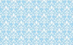 Wallpaper blue, pattern