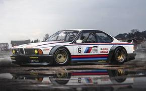 Picture BMW, Car, Race, Front, CSi, M635, Hugo Silva