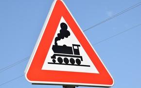 Picture Sign, train, train
