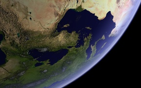 Wallpaper planet, view, landscapes, planet earth, space, earth