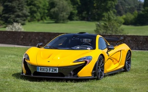 Picture Yellow, Mclaren, lawn