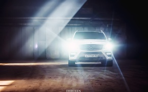 Picture machine, auto, light, Mercedes-Benz, photographer, optics, auto, photography, AMG, photographer, ML350, Thirteen