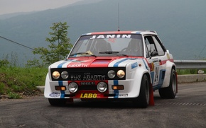 Picture Strip, Machine, Race, WRC, Rally, Rally, Fiat, Abarth 131