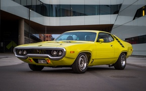 Picture Plymouth, Yellow, Roadrunner