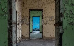 Picture wall, interior, door