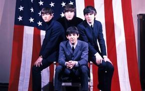 Picture The Beatles, The Beatles, musicians, rock, legend, Beatles, music, The Beatles, talent, Ringo Star, George ...