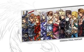 Picture Cloud, Final fantasy, Dissidia Final Fantasy