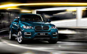 Picture machine, BMW, jeep, car, BMW X6, Beha