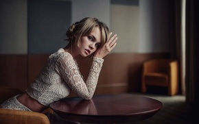 Picture photographer, makeup artist, Maxim Guselnikov, Anastasia Shcheglova, Luzi Koshkina