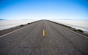 Picture the sky, landscape, the way, road, photos, roads