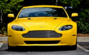 Picture Aston Martin, Vantage, Front, View