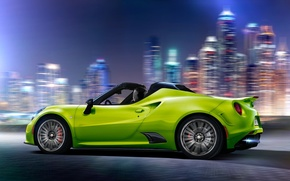 Wallpaper sports car, Alfa Romeo, Alfa Romeo 4C