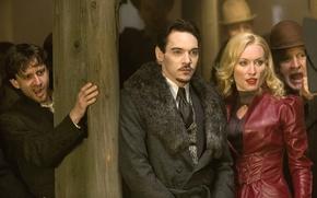 Picture vampire, the series, actors, hunter, characters, Dracula, Dracula, NBC, TV show, Jonathan Rhys Meyers, Vlad ...