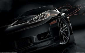 Wallpaper machine, gran turismo, race, black