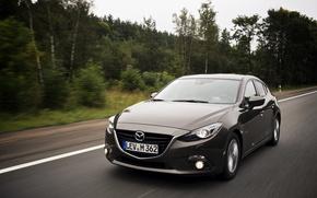 Picture speed, Mazda, grey, Mazda, matryoshka