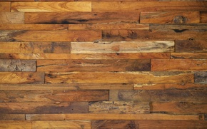 Picture wall, wooden, tables