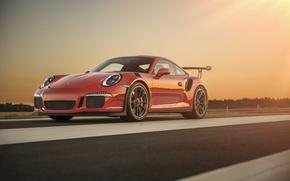 Picture 911, Porsche, Red, GT3