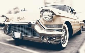Wallpaper auto, retro, car, classic, Cadillac, Oldtimer