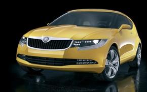 Picture the concept, hatchback, Skoda, Joyster