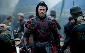 Picture Dracula, Luke Evans, Dracula Untold, The legend will gain immortality