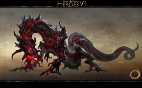 Picture Dragon, Chaos, Heroes of might and Magic 6, Might & Magic Heroes VI, Urgash, Urges