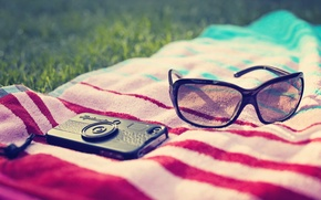 Picture greens, grass, nature, strip, background, situation, Wallpaper, meadow, glasses, the camera, wallpapers, polnoekrannyj