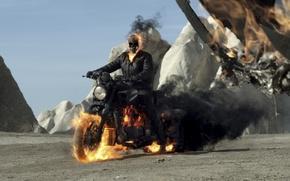 Wallpaper Nicolas Cage, Johnny Blaze / Ghost Rider, Ghost Rider: Spirit of Vengeance, Ghost rider 2, ...