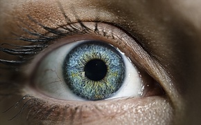 Picture macro, eyes, background