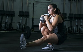 Picture legs, female, workout, crossfit