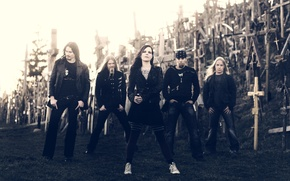 Picture metal, Dark Passion Play, promo, Nightwish, sympho