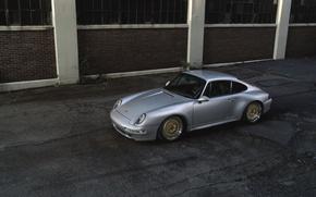 Picture Porsche, street, 993