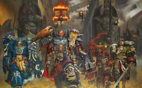 Picture weapons, war, Warhammer