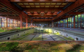 Picture Pool, Abandoned, Empty