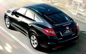 Wallpaper movement, Honda, Crosstour, speed