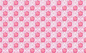 Picture flowers, pattern, Sakura, the volume
