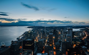 Picture USA, Space Needle, United States, Washington, buildings, architecture, Seattle, America, United States of America, structures, ...