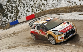 Picture Race, Dirt, Citroen, DS3, WRC, Rally, Sebastien Loeb, Rides