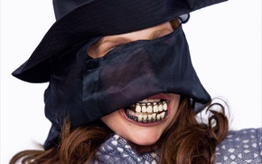 Picture girl, style, music, teeth, hat, music, Monster, actress, singer, fashion, celebrity, fashion, monster, art, singer, …