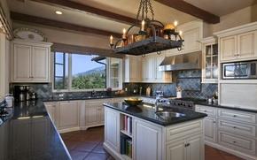 Picture design, style, room, interior, kitchen, kitchen, mediterranean