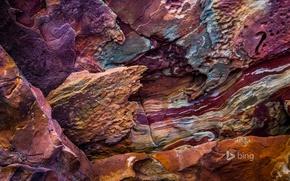 Picture rock, paint, Australia, Kalbarri National Park