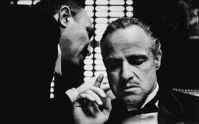 Wallpaper godfather, The godfather, movie
