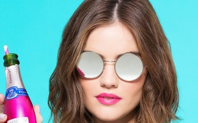 Picture actress, glasses, Lucy Hale, Lucy Hale