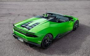 Picture car, auto, shadow, Lamborghini, auto, Spyder, wallpapers, Lamborghini, Novitec, Torado, Huracan