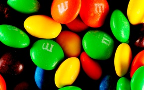 Picture colored, candy, pills, mmdas
