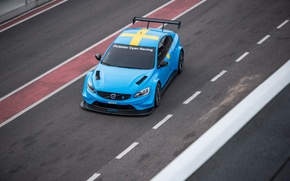 Picture track, Volvo, the view from the top, Track, S60, 2016, Polestar