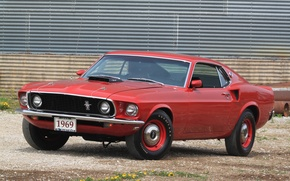 Picture Mustang, Ford, 1969, Super, 428