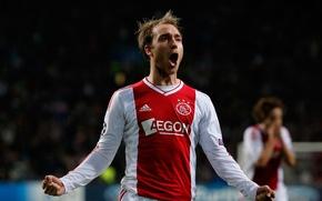Picture Sport, Football, Christian, Football, Christian, Sport, Ajax, Ajax, Talent, Talent, Young, Eriksen, Eriksen, Young