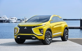 Wallpaper Concept, the concept, Mitsubishi, Mitsubishi, crossover